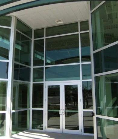 Phoenix Commercial Storefront Glass Window Door repair Install tempe az