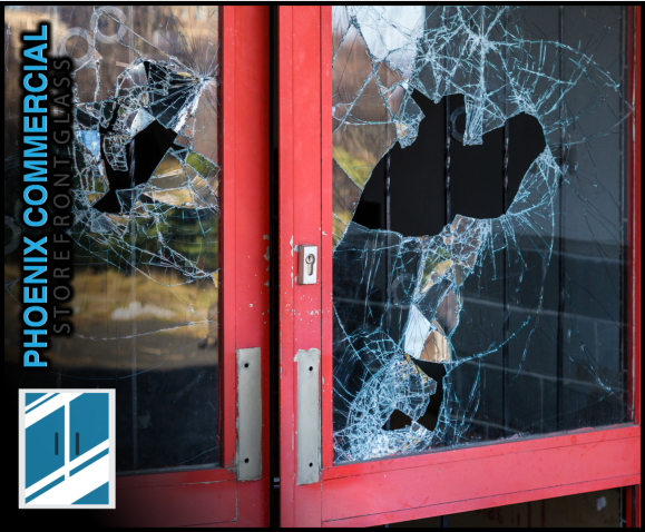 82 phoenix commercial storefront glass repair install glass door repair 1