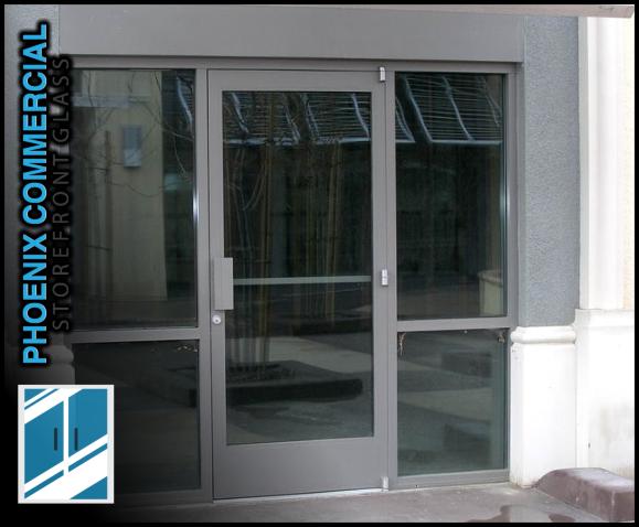 82 phoenix commercial storefront glass repair install glass door repair 3