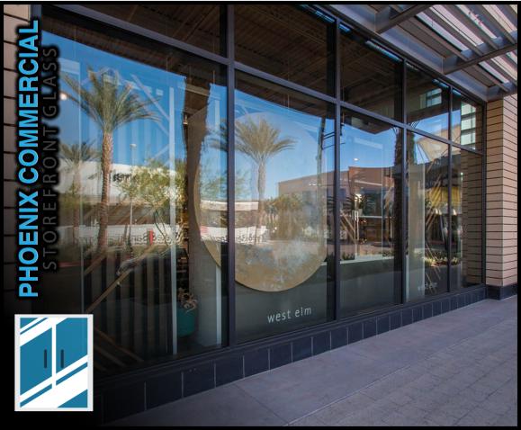 84 phoenix commercial storefront glass repair install storefront window door 3