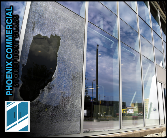 87 phoenix commercial storefront glass repair install emergency 2