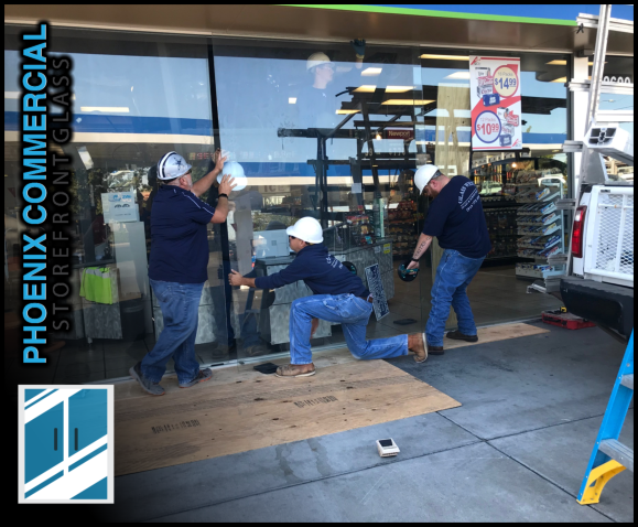 87 phoenix commercial storefront glass repair install emergency 4